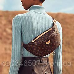 Поясная сумка Louis Vuitton Bumbag Monogram Brown. Бананка Луи Виттон