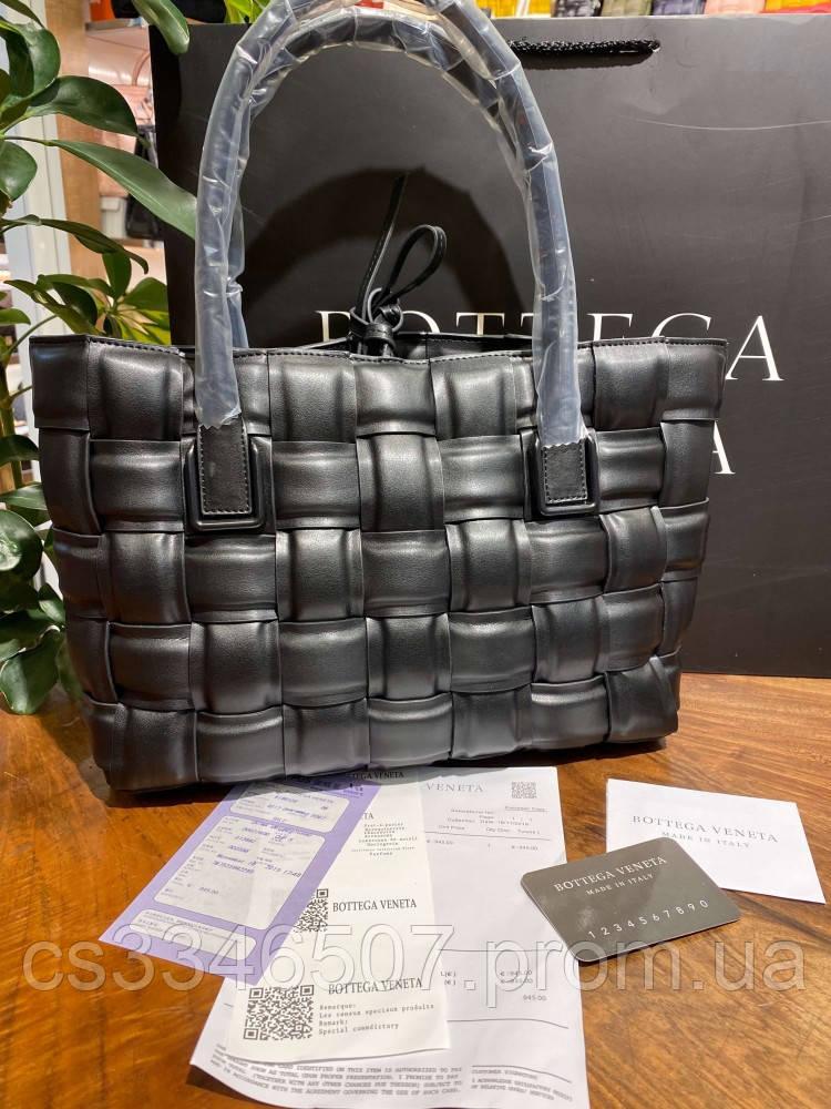 Женская сумка Bottega Veneta Tote Bag in Nero