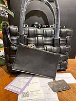 Женская сумка Bottega Veneta Tote Bag in Nero, фото 3