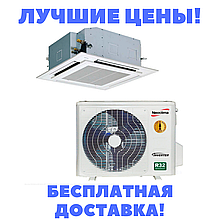 Касетний інверторний кондиціонер Neoclima NTSI18EH1s/NUI18EH1s/NTP-12-18AHe