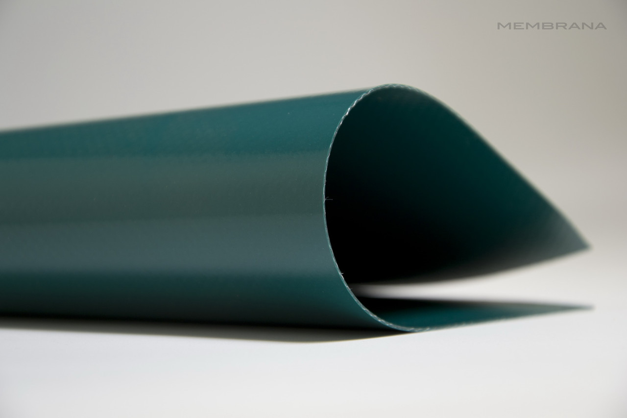 Материал тентовий ПВХ 630 г/м2 Бельгійського виробника,  зелений