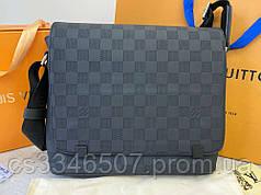 Мужская сумка Messenger Louis Vuitton District GM Damier Infini
