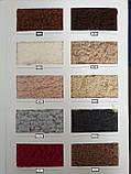 Чехол на диван с подлокотниками, без оборки, меховой, плюшевый, натяжной, большого размера Venera Коричневый, фото 2