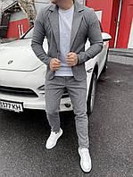 Костюм мужской пиджак брюки брендовый копия реплика