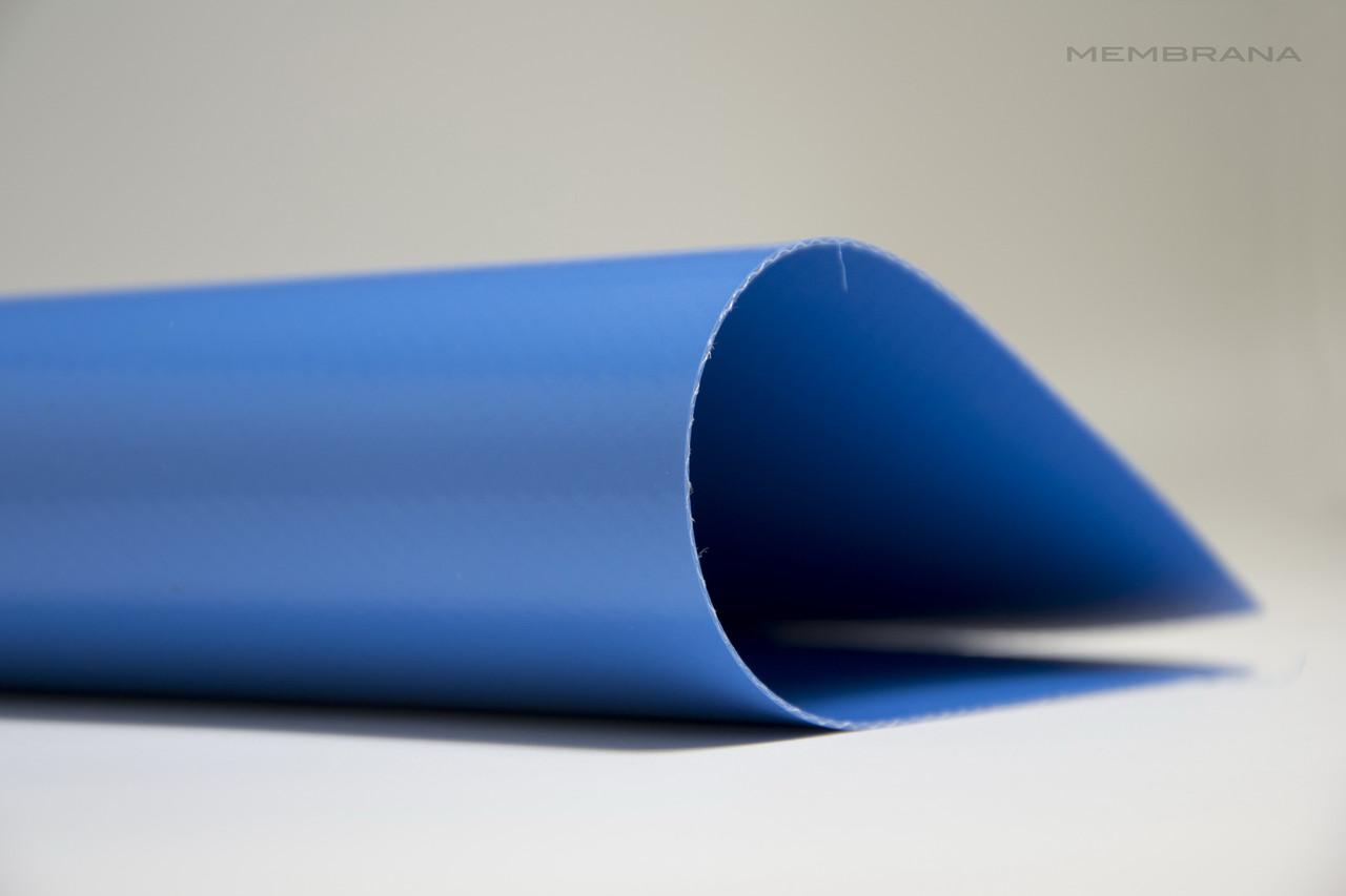 Материал тентовий ПВХ 650 г/м2 Корейського виробника, блакитна