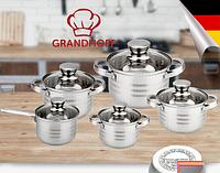 Набор посуды Grandhoff кастрюли с ковшиком