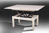 Стол-Трансформер Флай дуб молочный (Микс-Мебель TM)