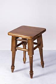 Табурет обеденный точеная ножка орех (Микс-Мебель ТМ)