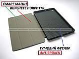 Черный чехол смарт Safebook для Lenovo Tab M10 HD tb-x306f 306x Platinum Grey (2nd GEN), фото 3
