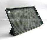 Черный чехол смарт Safebook для Lenovo Tab M10 HD tb-x306f 306x Platinum Grey (2nd GEN), фото 4
