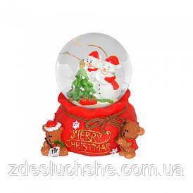 Снігова куля музичний Мішечок SKL11-208879