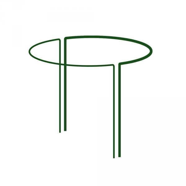Кольцевая опора для растений, 1/2 круга,  D=40см, H=100см, TYRP440100