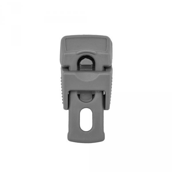 Зажимы для шнура BUNGEE Clip Clips, серый, 10шт, BCK2-B