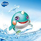 Игрушка для ванной Hola Toys Голубой Кит плавающий по воде, фото 5