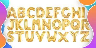 Фольговані літери
