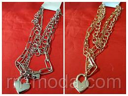 цепочки, кулоны, массивные цепи, женские цепочки, тройные цепи, цепи с подвесками, цепи, украшения на шею, массивные украшения, бижутерия оптом