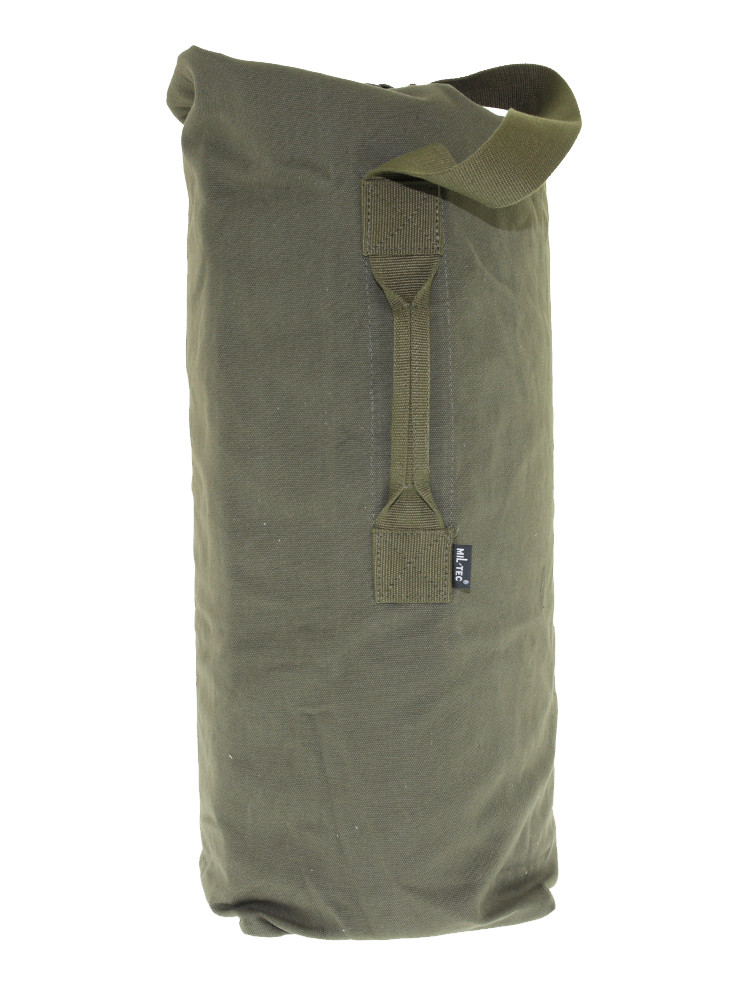 Баул армійський брезентовий 60 літрів MIL-TEC Olive, 13847001