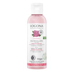 Вода мицеллярная Увлажнение и Питание для сухой кожи Роза Logona 125мл