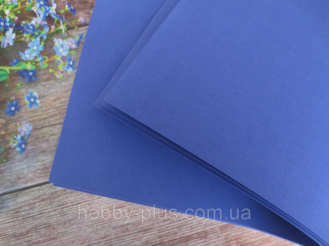 Фоамиран для ростовых цветов, 2 мм, 50х50 см, цвет ФИОЛЕТОВЫЙ