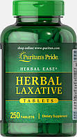 Herbal Laxative, Puritan's Pride, 250 таблеток, скидка