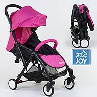 Детская прогулочная коляска JOY W 8095 Розовый | Легкая коляска для путешествий