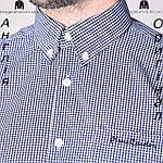 Рубашка мужская Pierre Cardin из Англии - на короткий рукав, фото 9
