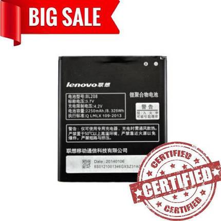 Battery Prime Lenovo BL208, фото 2