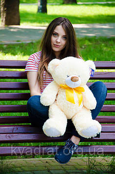 Плюшевий Ведмедик Бойд 70 см Абрикосовий