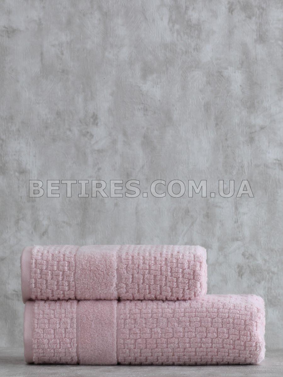 Набір рушників PAVIA KAYLA PUDRA (75х150, 50х85) рожевий