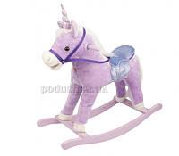 Игрушечная пони-качалка с музыкой JR616 Rock my baby