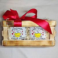 Именной медовый подарок любимому мужу парню папе на 14 и 23 февраля