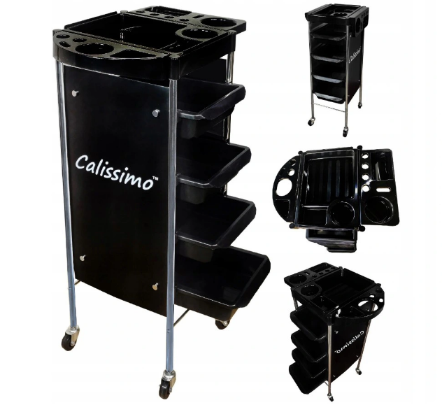 Візок органайзер для косметики BlackPrim Calissimo Barber перукарня