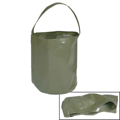 Ведро складное  10 литров MIL-TEC Olive
