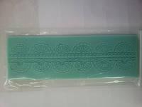 """Текстурный силиконовый коврик для мастики и айсинга""""оборки""""(код 01786)"""