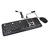 Комплект проводная клавиатура игровая LED + мышь HK3970