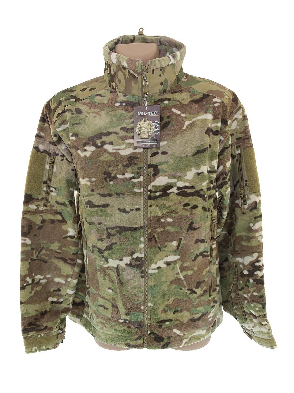 Куртка тактическая с флисовой подкладкой Delta Multicam, 10857049