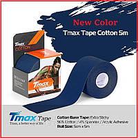 Кинезио тейп, Tmax Tape 5см х 5м Тёмно синий, фото 1