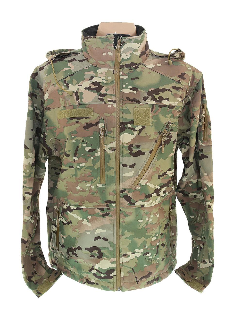 Куртка тактична SCU14 SoftShell Multicam, 10864049