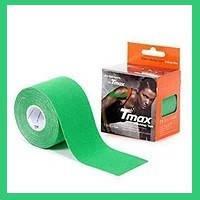 Кинезио тейп, Tmax Tape 5см х 5м Зелений, фото 1