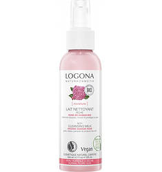 Молочко очищающее для сухой и чувствительной кожи Роза Logona 125 мл
