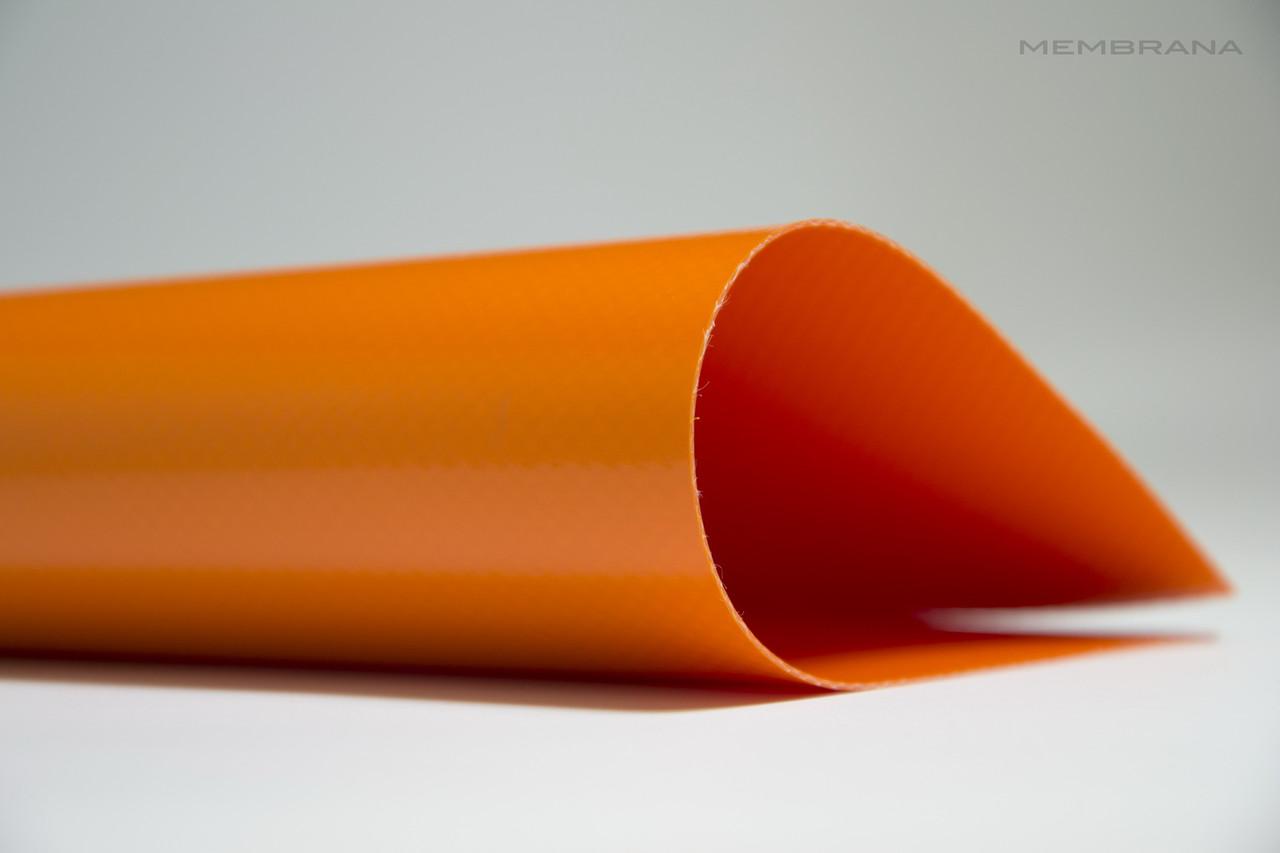 Материал тентовий ПВХ 630 г/м2 Китайськогоо виробника, помаранчева