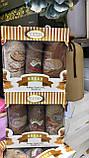 Набір Новорічних Рушників Для Кухні в Коробці 3 ка На Подарунок Бавовна Махрові Туреччина Gulcan, фото 5
