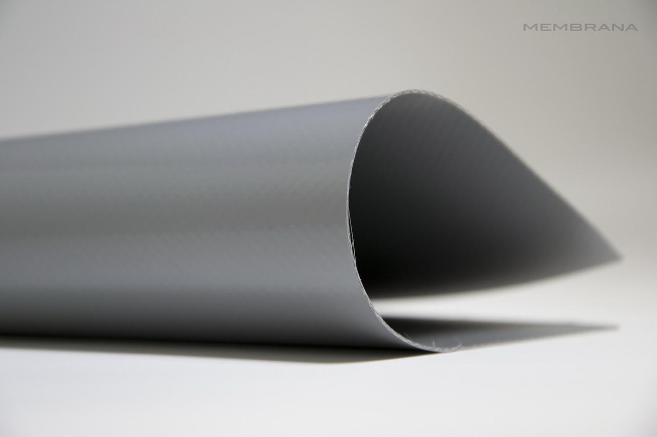 Материал тентовий ПВХ 630 г/м2 Китайськогоо виробника,сіра