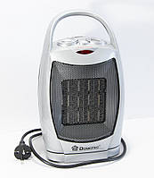 Тепловентилятор поворотный электро обогреватель, Domotec MS 5905 1500 W, электрический дуйчик, фото 1