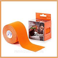 Кинезио тейп, Tmax Tape 5см х 5м Оранжевый, фото 1