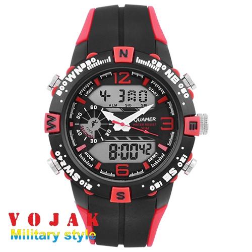 Годинник QUAMER 1509 Red