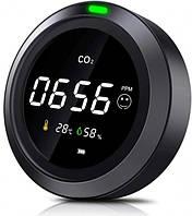 Термогигрометр с датчиком измерения CO2 PTH-5 (PTH5-12). Датчик углекислого газа. Датчик co2