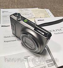Бу. Цифровой фотоапарат nikon coolpix S9100