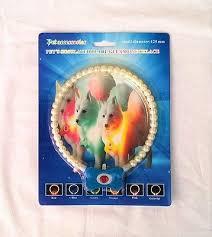 Светящийся ошейник ожерелье из жемчуга для собак и кошек Pet's simulated pearl gleamy necklage 125мм