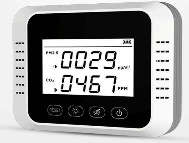 Индикатор анализатор качества воздуха СО2 звуковой